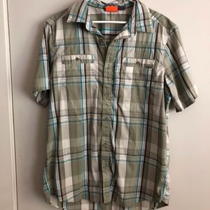 Merrell - Short Sleeve Plaid Button Down